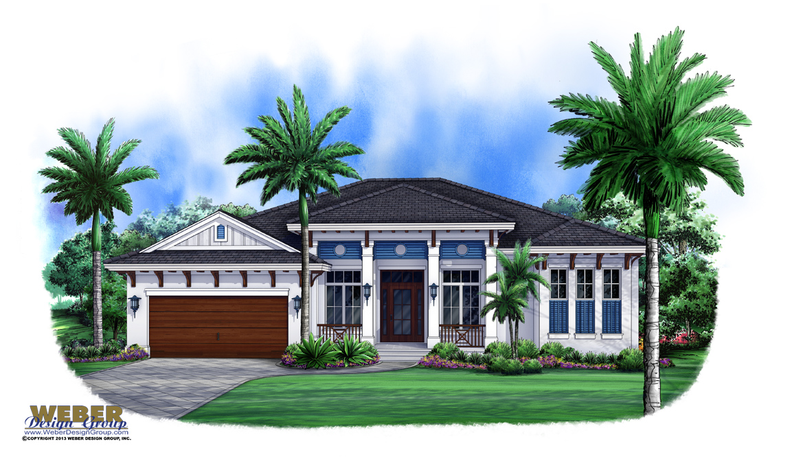 1 Story House Plans One Story Modern Luxury Home Floor Plans