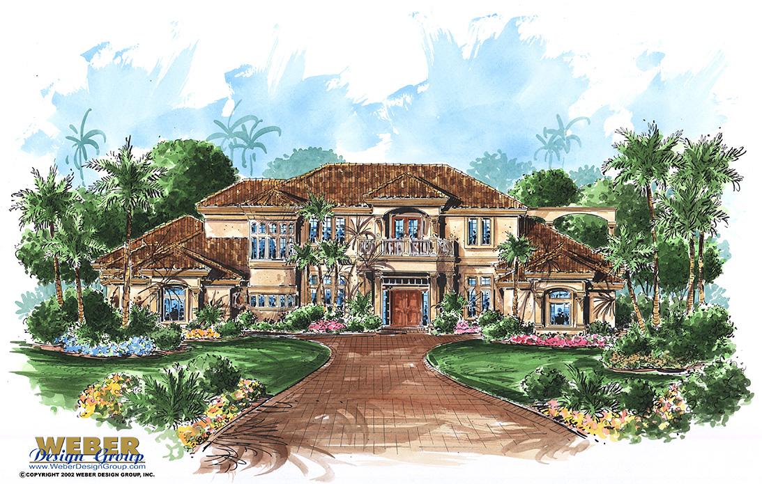Mediterranean House Plans Luxury Mediterranean Style Home Floor Plans