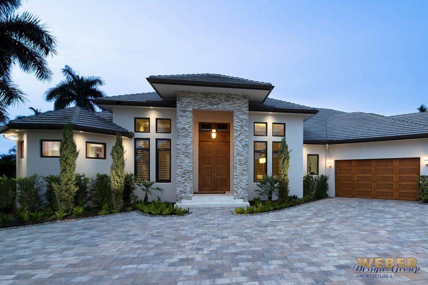 Contemporary House Plan 1 Story Coastal Contemporary Floor Plan – Cornerstone Homes Floor Plans