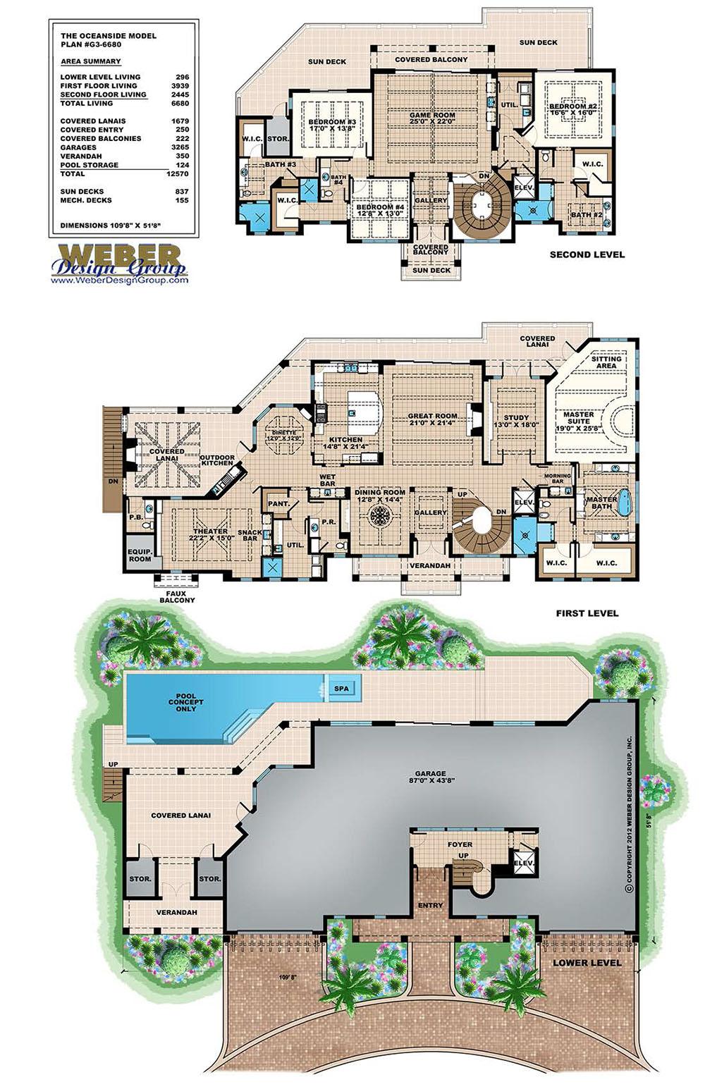 Beach House Plan Caribbean Beach Home Floor Plan 3 Story