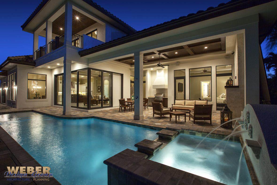 West Indies Waterfront Home Design Marco Island Fl