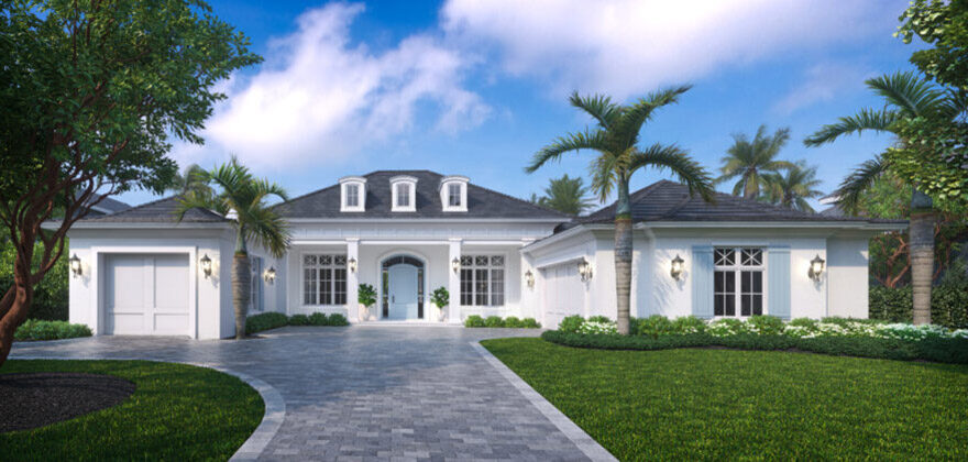 Modern 3 Bed House Plan With 2 Car Garage 80913pm Architectural Designs House Plans